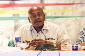 Climate Change Management Department director Mr Washington Zhakata