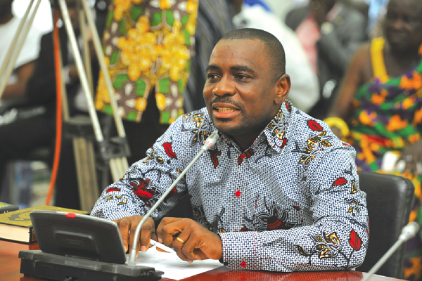 Deputy Agric Minister in charge of perennial crops, Osei Nyarko Kennedy (1)