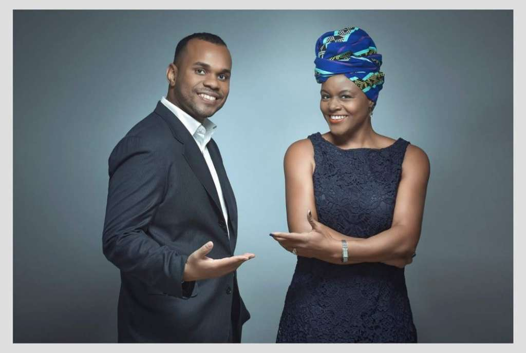 Ovamba co-founders Marvin Cole (left) and Viola Llewellyn are helping small businesses in West Africa access capital. (© Ovamba)