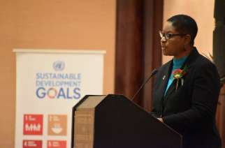 UN Resident Coordinator to Namibia Rachel Odede