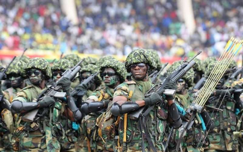 Military facilities to be given facelift – Akufo-Addo