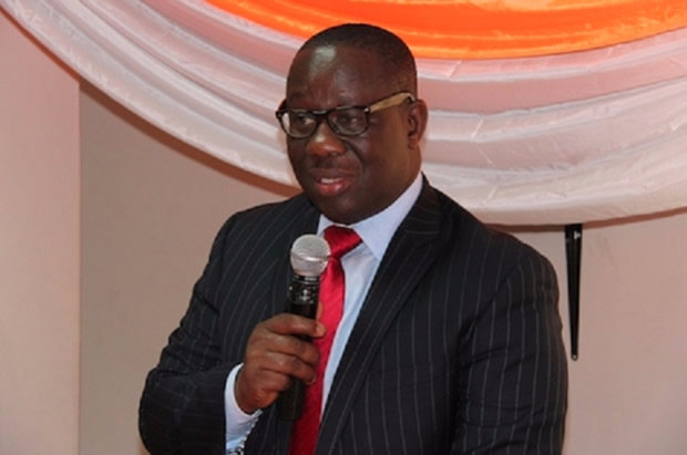 SSNIT Director General Ernest Thompson
