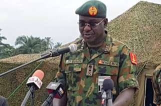 Chief of Army Staff, Lieutenant General Tukur Buratai