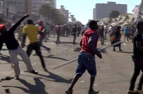 Post election violence in Zimbabwe