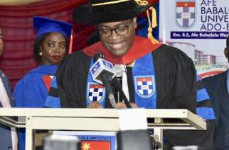 Afe Babalola University Confers Honorary Doctorate Degree on African Development Bank President Akinwumi Adesina