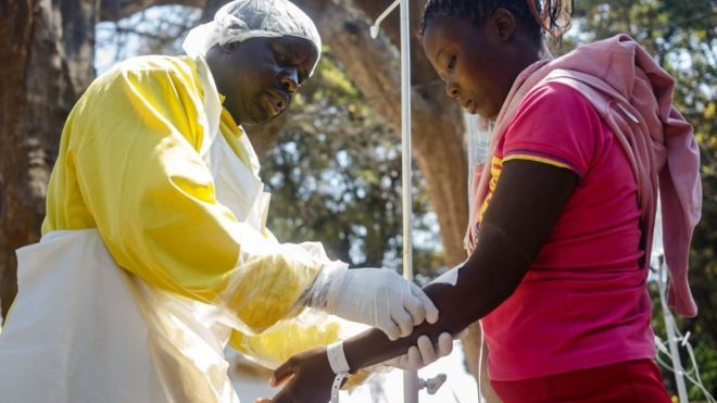 More than 3,000 people have been infected with cholera