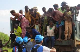 Congolese expelled from Angola returning to 'desperate situation': UN refugee agency