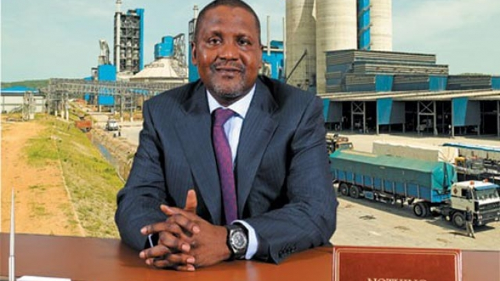 Dangote ranked sixth most charitable person in the world.