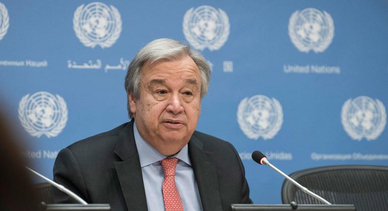 UN Photo/Mark Garten UN Secretary-General António Guterres