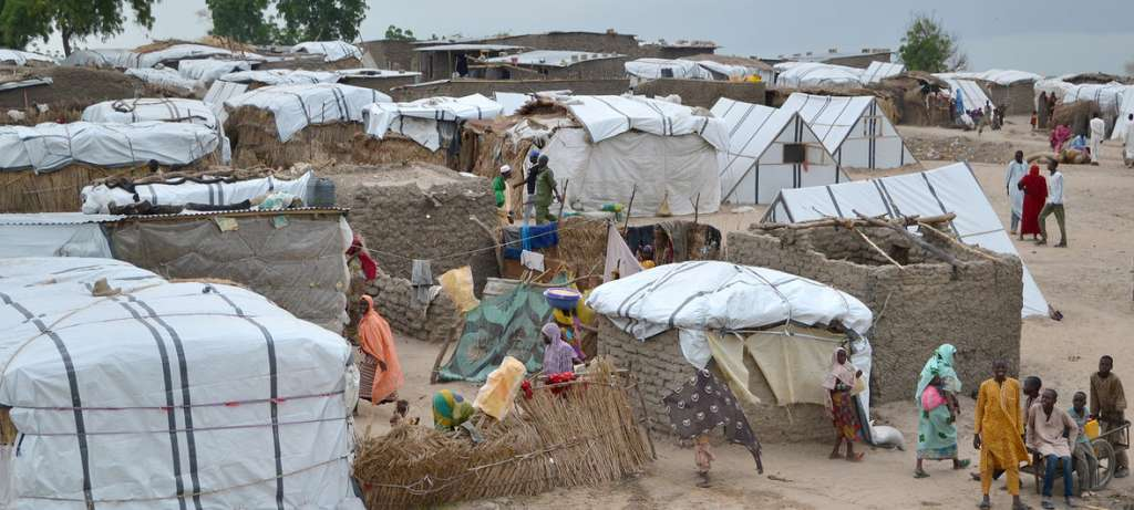 OCHA / Yasmina Guerda | A camp for conflict-affected people in Rann, north-east Nigeria