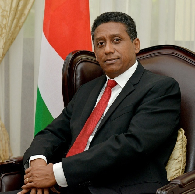 Danny Faure, President of Seychelles (State House)