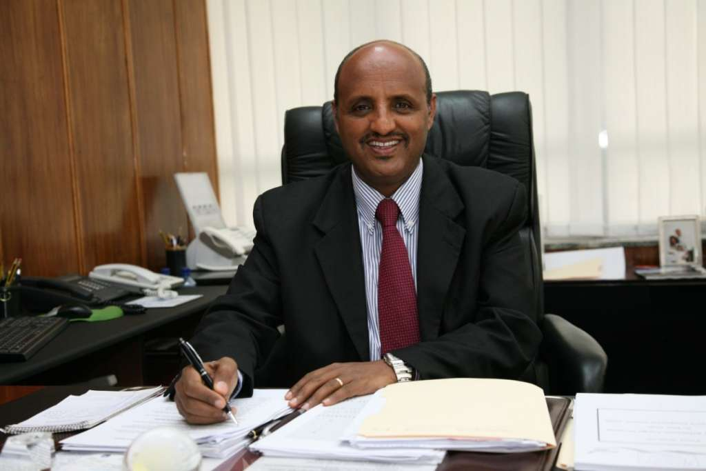Ethiopian Group CEO Mr Tewolde Gebremariam