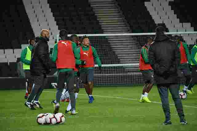 Cameroon Clashes with Brazil today in an international friendly