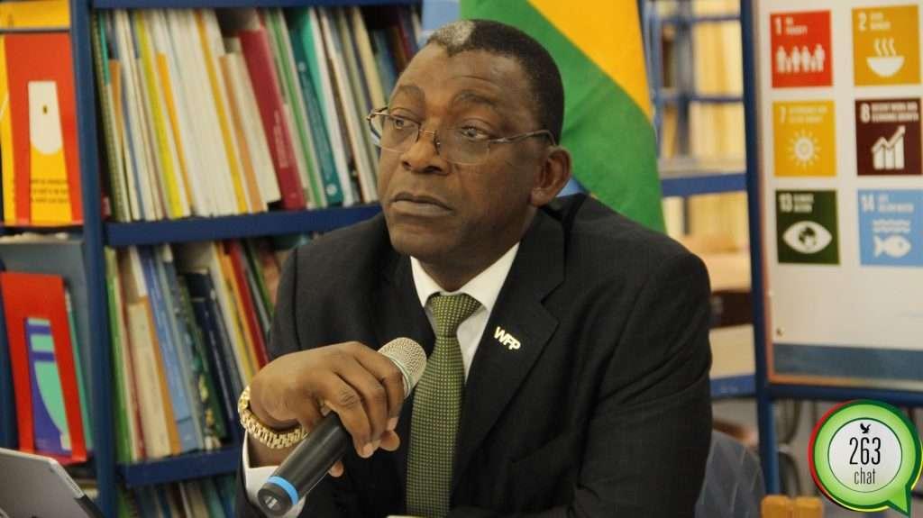 WFP Zimbabwe Representative Eddie Rowe.
