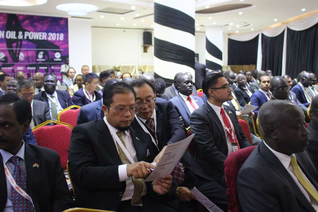 Investors listening to the speeches, Photo by Deng Machol, Nov 20, 2018