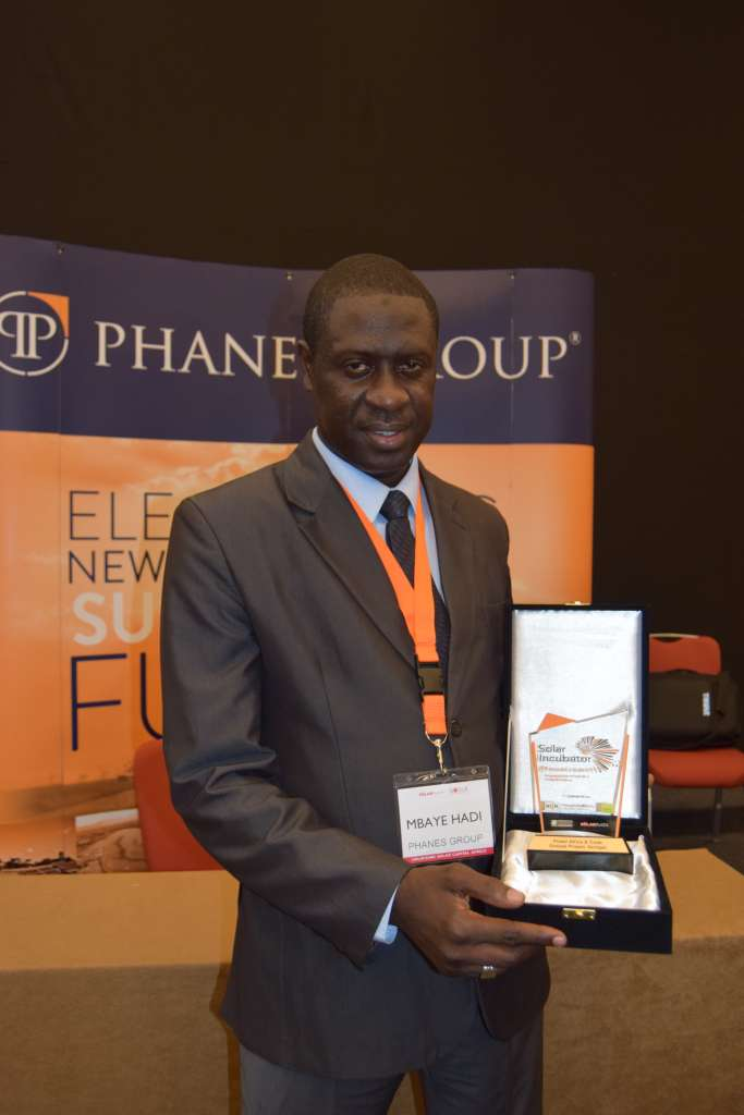 Winner of the 2018 Phanes Group Solar Incubator
