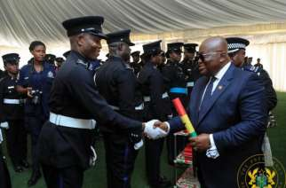 Change corruption image – Akufo-Addo to Police Officers
