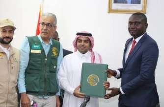 Saudi King Salman donates Medical Items to Ghana