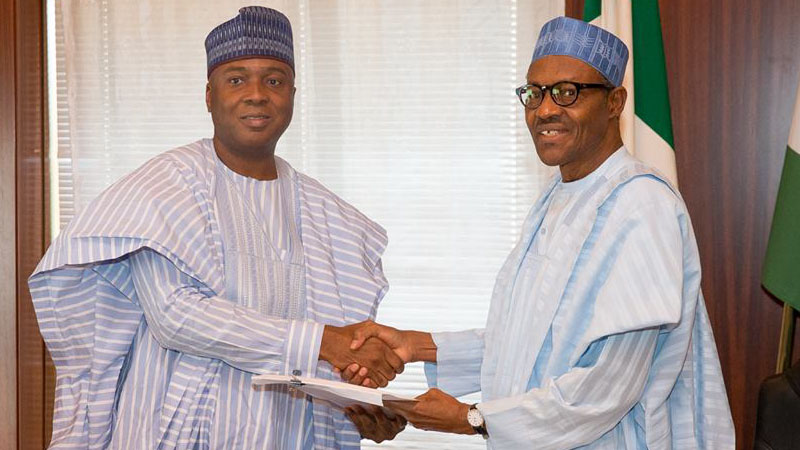 Senate President Saraki is one of the most high profile politicians who has left Buhari's camp