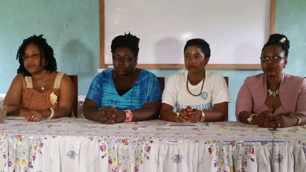 Young women led NGO-CSO calling for an end to the kidnapping of children and teachers