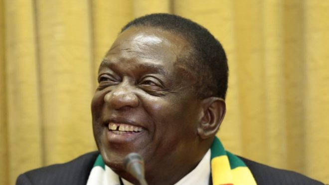 President Emmerson Mnangagwa said it was an exciting development for Zimbabwe