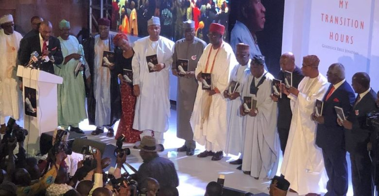 The book launch was graced by political leaders of all political shades as well as former Presidents from several West African countries