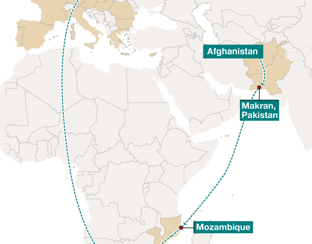 Mozambique Tanzania And South Africa Create Workforce To Fight Trafficking On Their Sea Routes