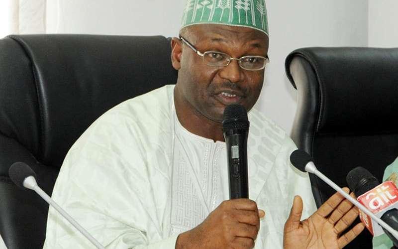 INEC Chairman Professor Mamood Yakubu