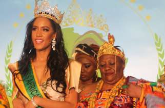 The African Union has crowned its first beauty pageant in Washington, DC.