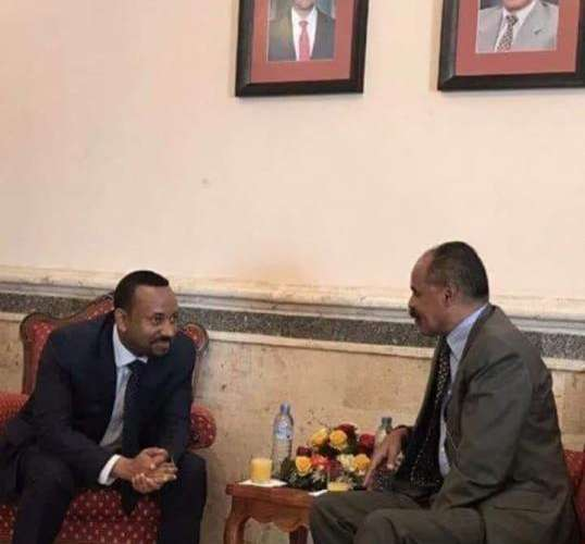 Eritrean President Isaias Afwerki hosts Ethiopian PM Abiy in Asmara. The humble dwelling of the Eritrean President speaks volumes on the simplicity of life in Eritrea