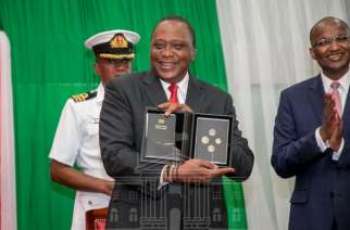 President Kenyatta launches Kenya's new currency coins