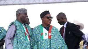 Atiku Abubakar and Uche Secondus
