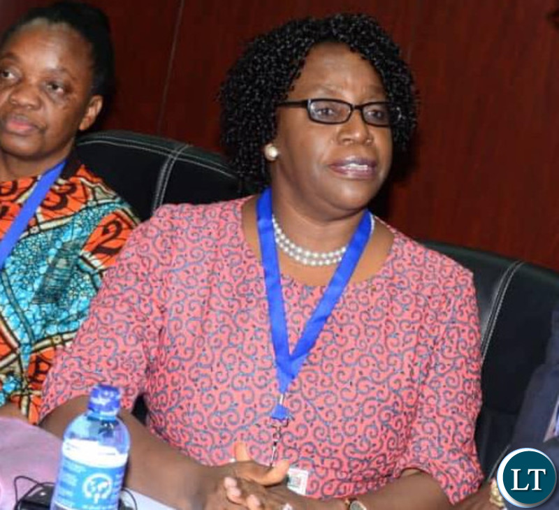 COMESA Secretary General Ms Chileshe Mpundu Kapwepwe.
