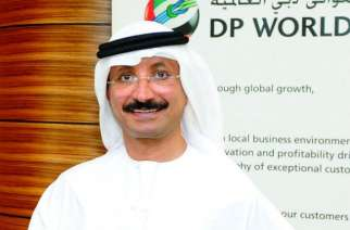 DP World's Group Chairman and Chief Executive Officer, Sultan Ahmed Bin Sulayem.