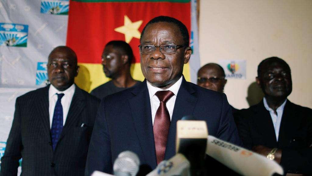 MRC Leader Maurice Kamto
