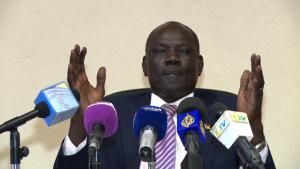 South Sudan Information Minister Michael Makuei