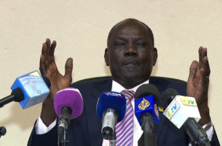 South Sudan Information Minister Michael Makuei