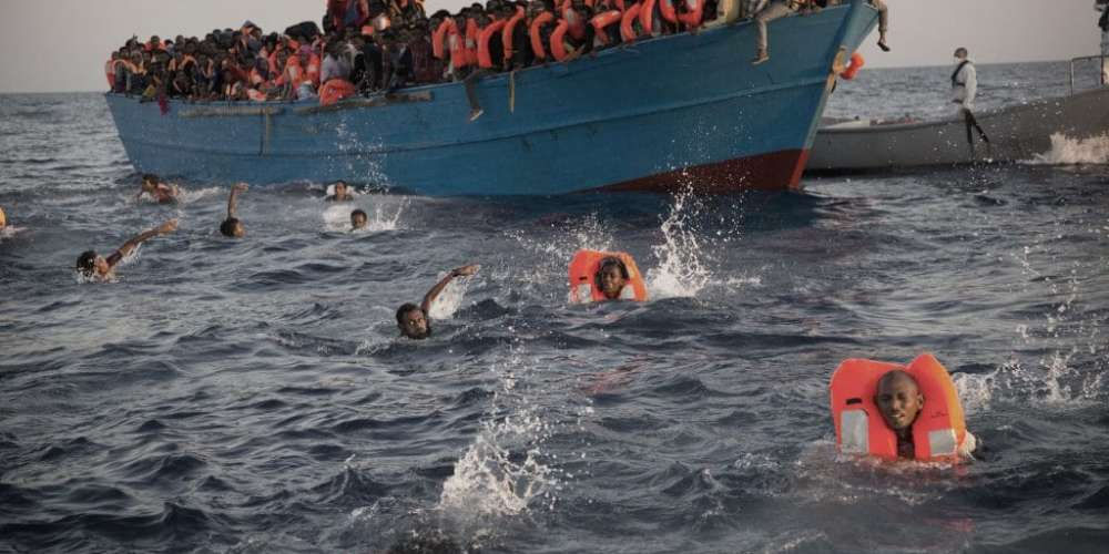 Dubious French African policy  fueling influx of immigrants to Europe says Italy