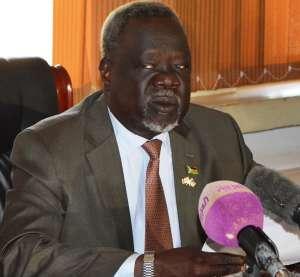 Dr. Riek Gai Kok, South Sudan Health Minister