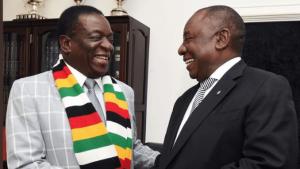 Mnangagwa and Cyril Ramaphosa
