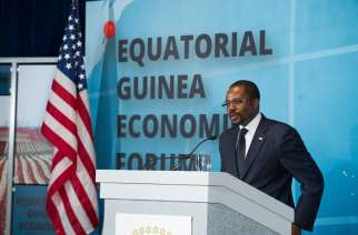 Minister of Mines, Industry and Energy Gabriel Mbaga Obiang Lima