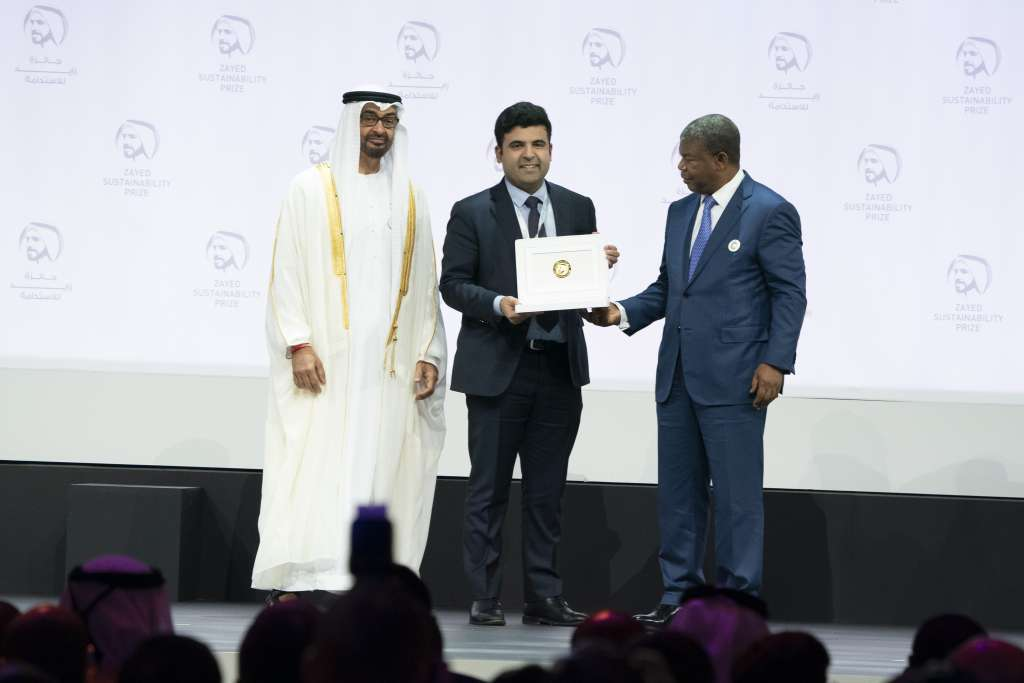 Energy Winner - Mansoor Hamayun - CEO and co-founder of BBOXX