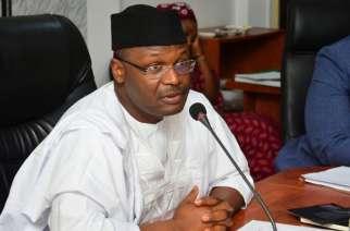 INEC chairman Prof Mahmoud Yakubu