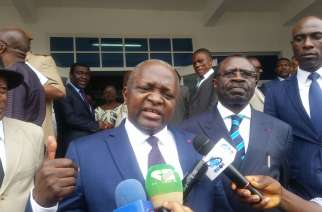 South West Governor Bernard Okalia Bilai