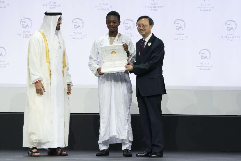 Global High Schools Winner for Africa - Africa Leadership Academy Student