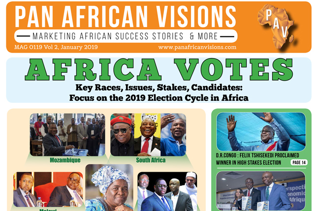Pan African Vision News Magazine VOL 7 – January 2019