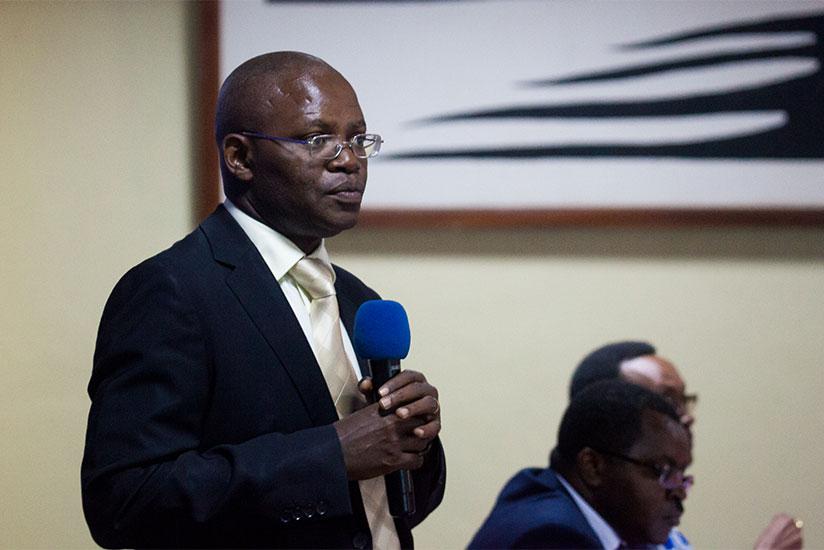 Executive Director of Transparency International-Rwanda, Apollinaire Mupiganyi