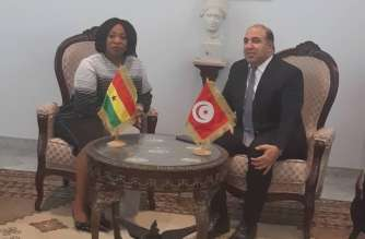 Ayorkor Botchwey and Tunisia counterpart