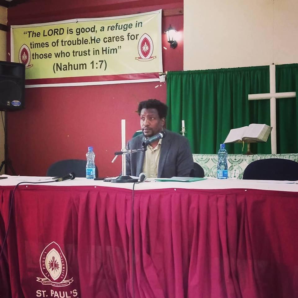 Mukoma Wa Ngugi at St Pauls University