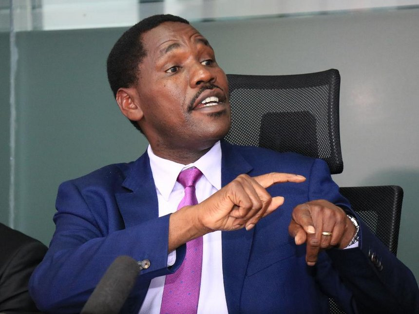Industry Trade and Cooperatives Cabinet Secretary Peter Munya